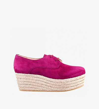 RASPBERRY - Plateau Lace Up