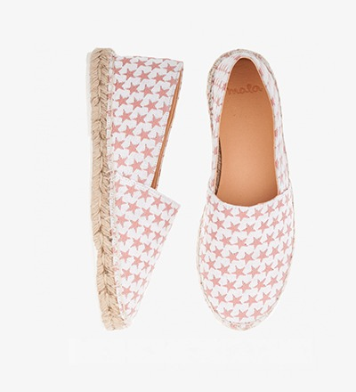 ROSE STARS - Cotton Mix / Espadrilles