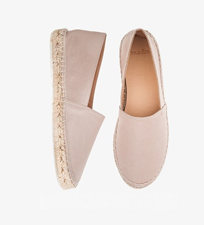 SHINY ROSE - Satin / Espadrilles