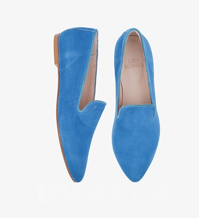 PERSIAN BLUE - FLAT LOAFER