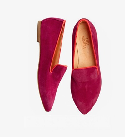 RASPBERRY - FLAT LOAFER