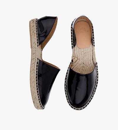 BLACK - Patent Leather / Menorquinas