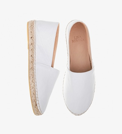 OFF WHITE - Calf Leather / Espadrilles