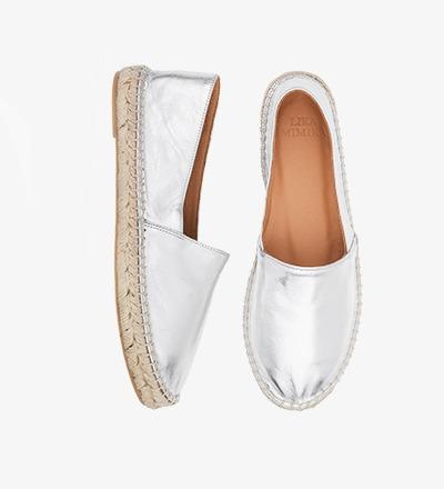 SILVER SHIMMER - Calf Leather / Menorquinas
