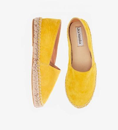 SOLE - Goat Suede / Espadrilles