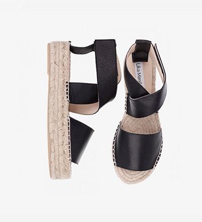 BLACK - Bold Sandal