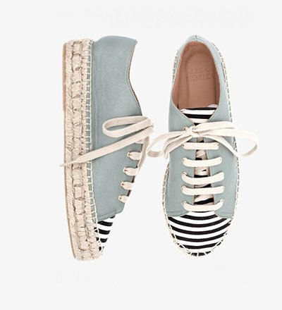 SALVIA STRIPES Pre - Order - Lace Up