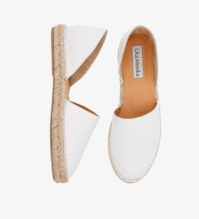 BLANCO - Calf Leather / Menorquinas