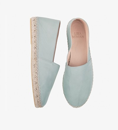 SALVIA - Calf Leather  / Espadrilles
