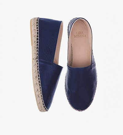 PRUSSE - Calf Leather / Espadrilles