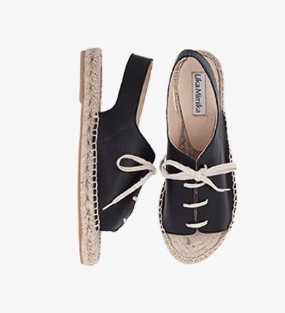 BLACK - Sling Sandal