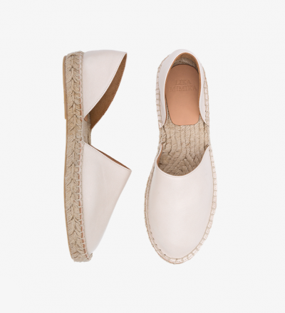 IVORY - Calf Leather / Menorquinas