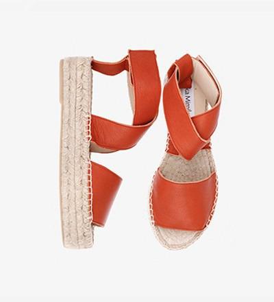 RUSTY RED - Bold Sandal