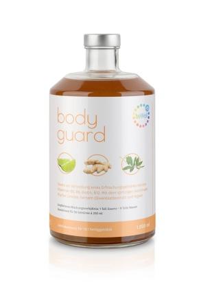 body guard 15 - Schmeckt dreifach gut. Cool, prickelnd oder heiß.