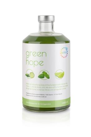 green hope 15 - Kalt, sprudelnd oder heiß genießen
