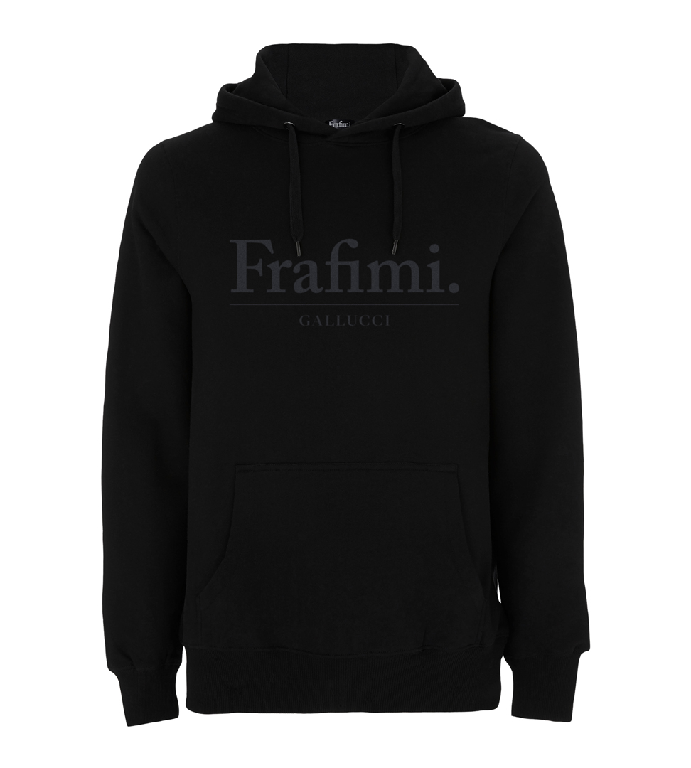 Understatement Hoodie - Black on Black - 2