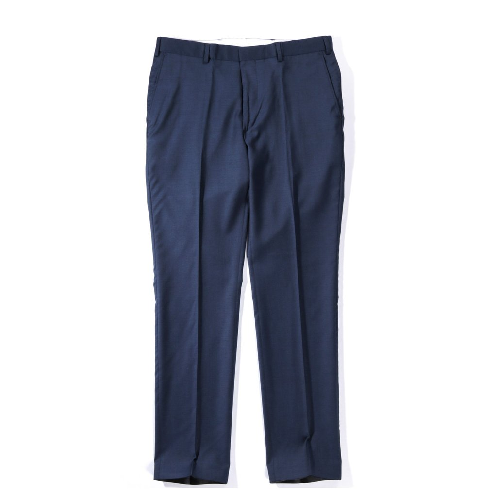 Classy Tailored Trousers - Marine - 1