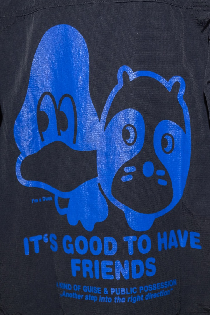 It s Good To Have Friends Shirt-Jacket - 3