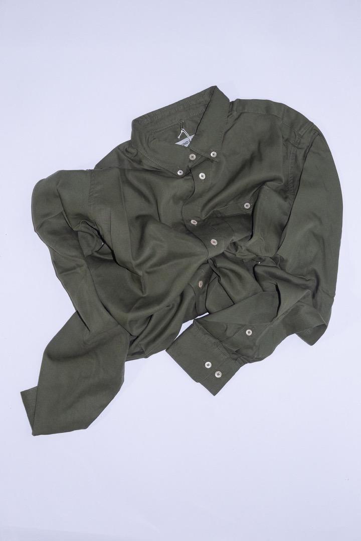 Narayan Shirt - Olive - 1