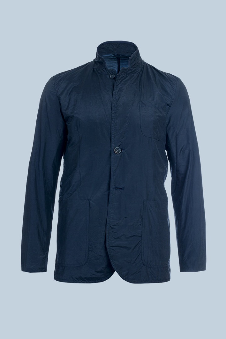 Cashmere Pocketparachute - Dark Navy 2