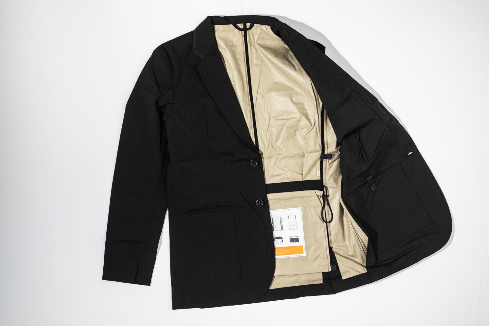 Pocketparachute Blazer - Black