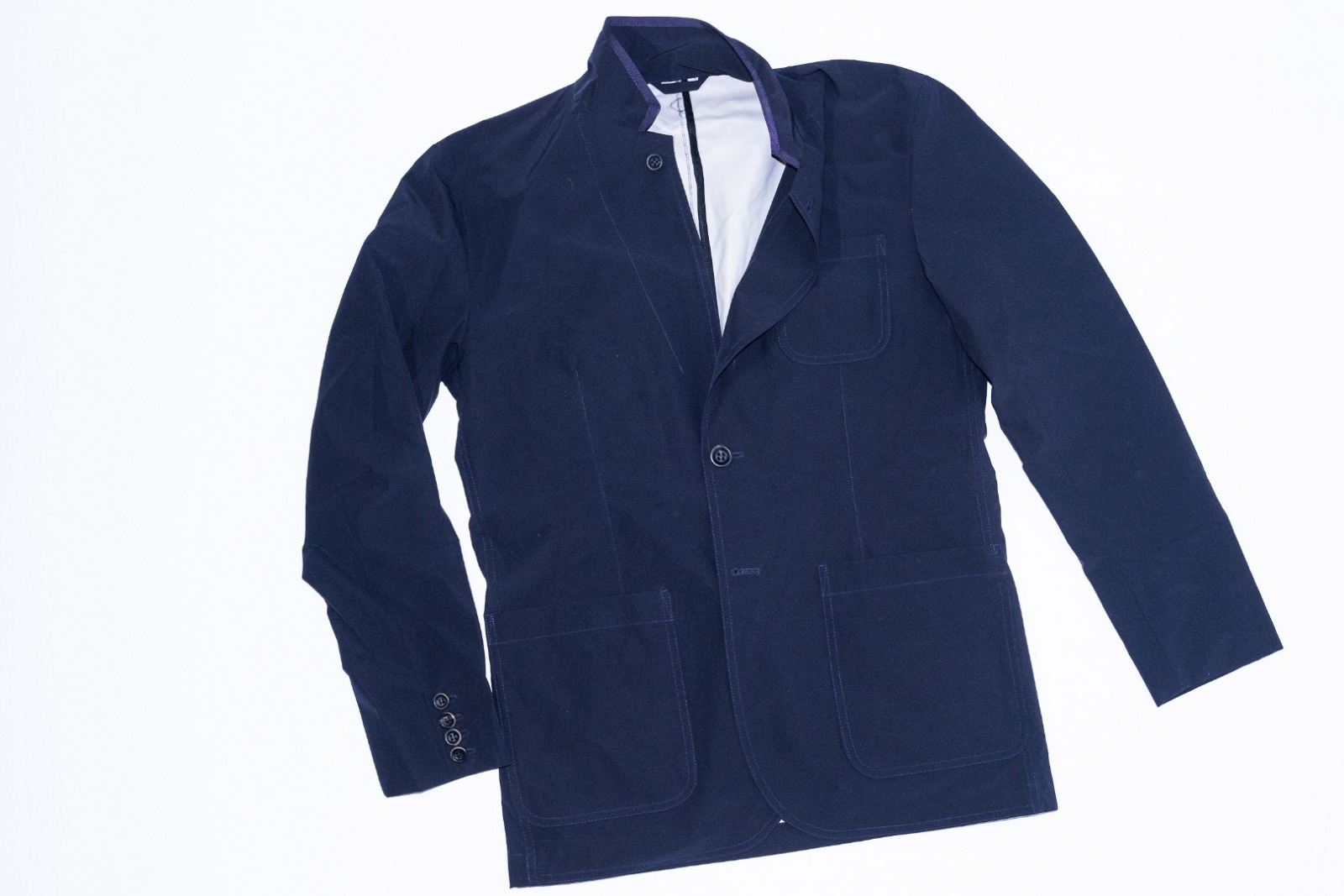Pocketparachute Blazer - Navy Blue - 1