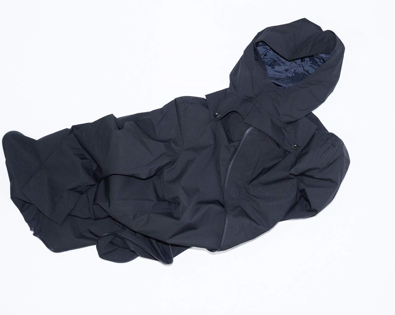 Raincoat - Black - 1