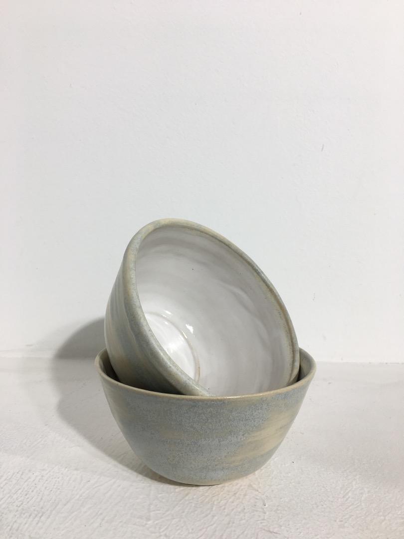 Bowl cm Cream Light Blue