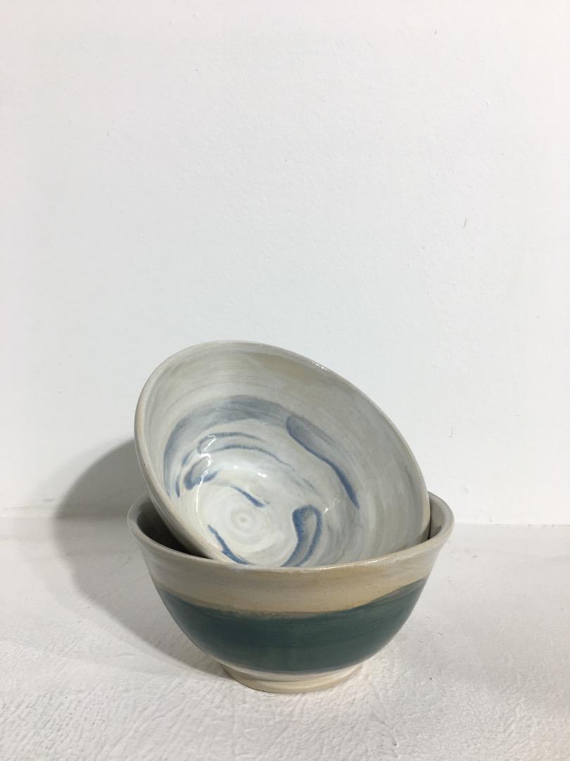 Bowl 14 cm - Teal / Sky - 1
