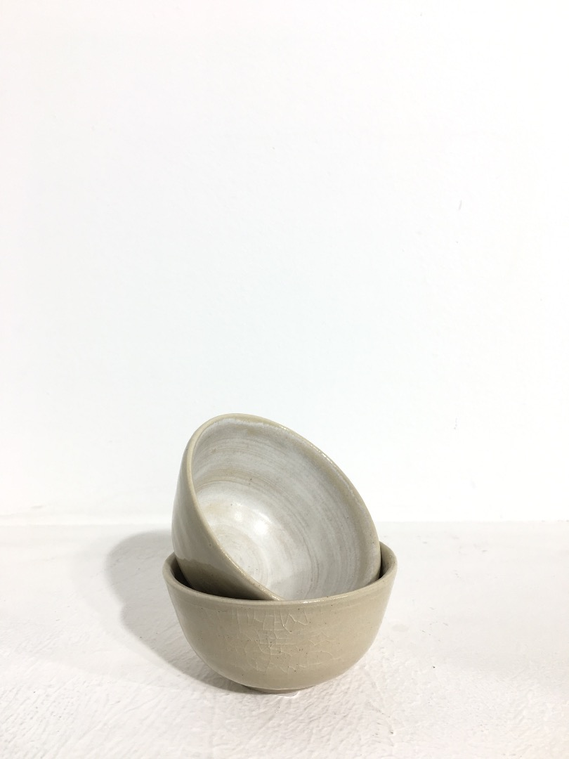 Bowl 9 cm - Cream / White - 1