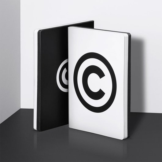 Copyright Black - Notebook L - 1