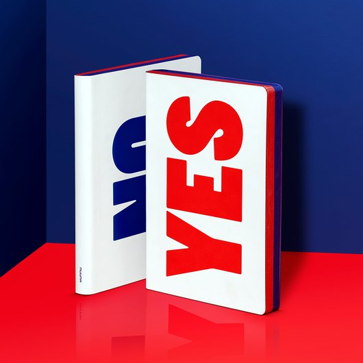 Yes No Red/Blue - Notebook L - 1