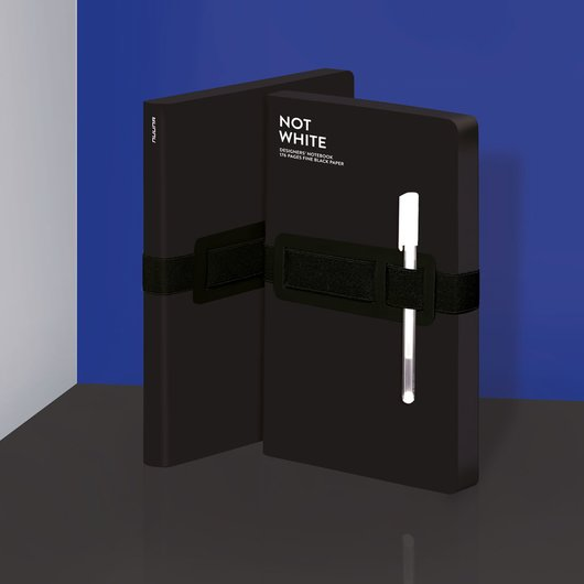 Not White Light Black - Notebook L - 1