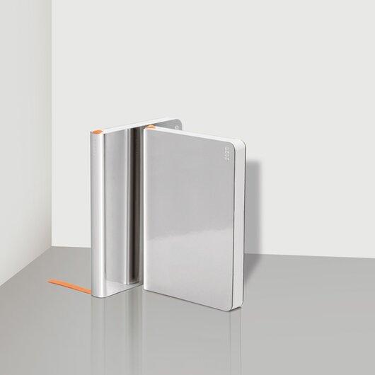 Weekly Diary 2020 Shiny Silver S - 1