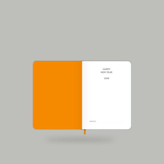 Weekly Diary 2020 Shiny Silver S - 2