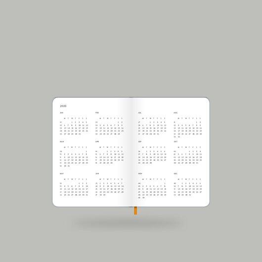 Weekly Diary 2020 Shiny Silver S - 4
