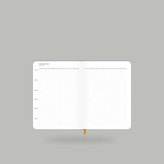 Weekly Diary 2020 Shiny Silver S - 7