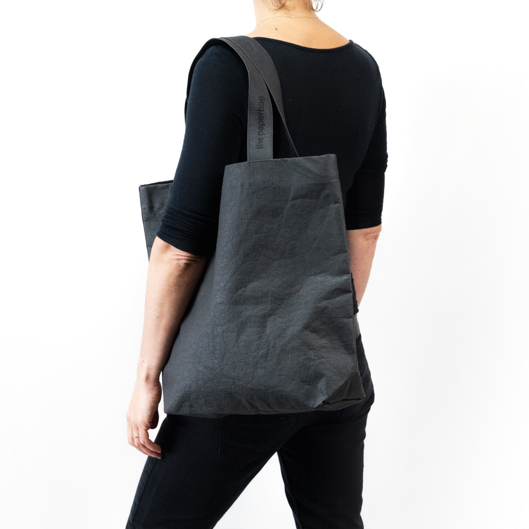 Paperbag NO 01 - Black | Black - 3