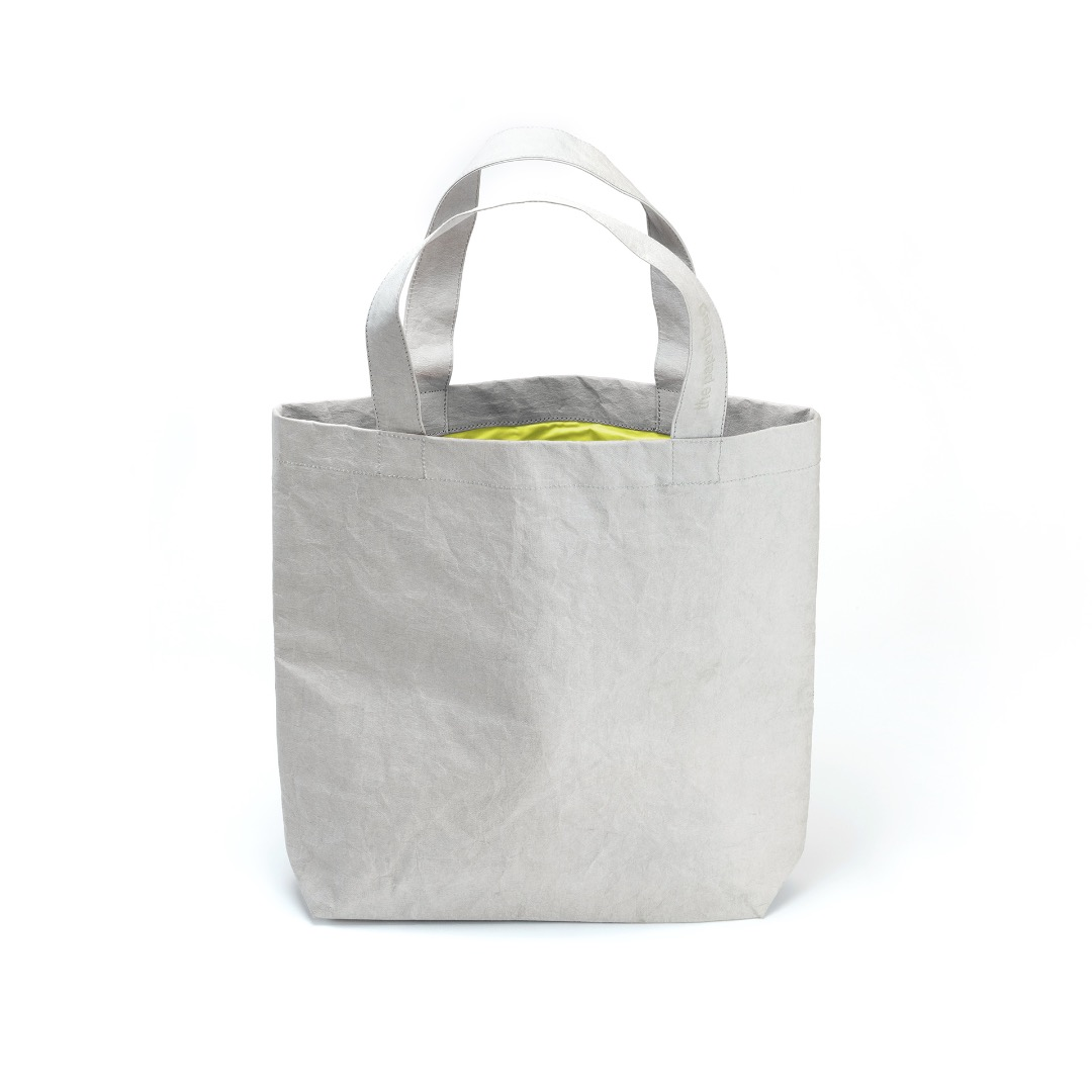 Paperbag NO 01 - Grey | Neon Yellow - 1