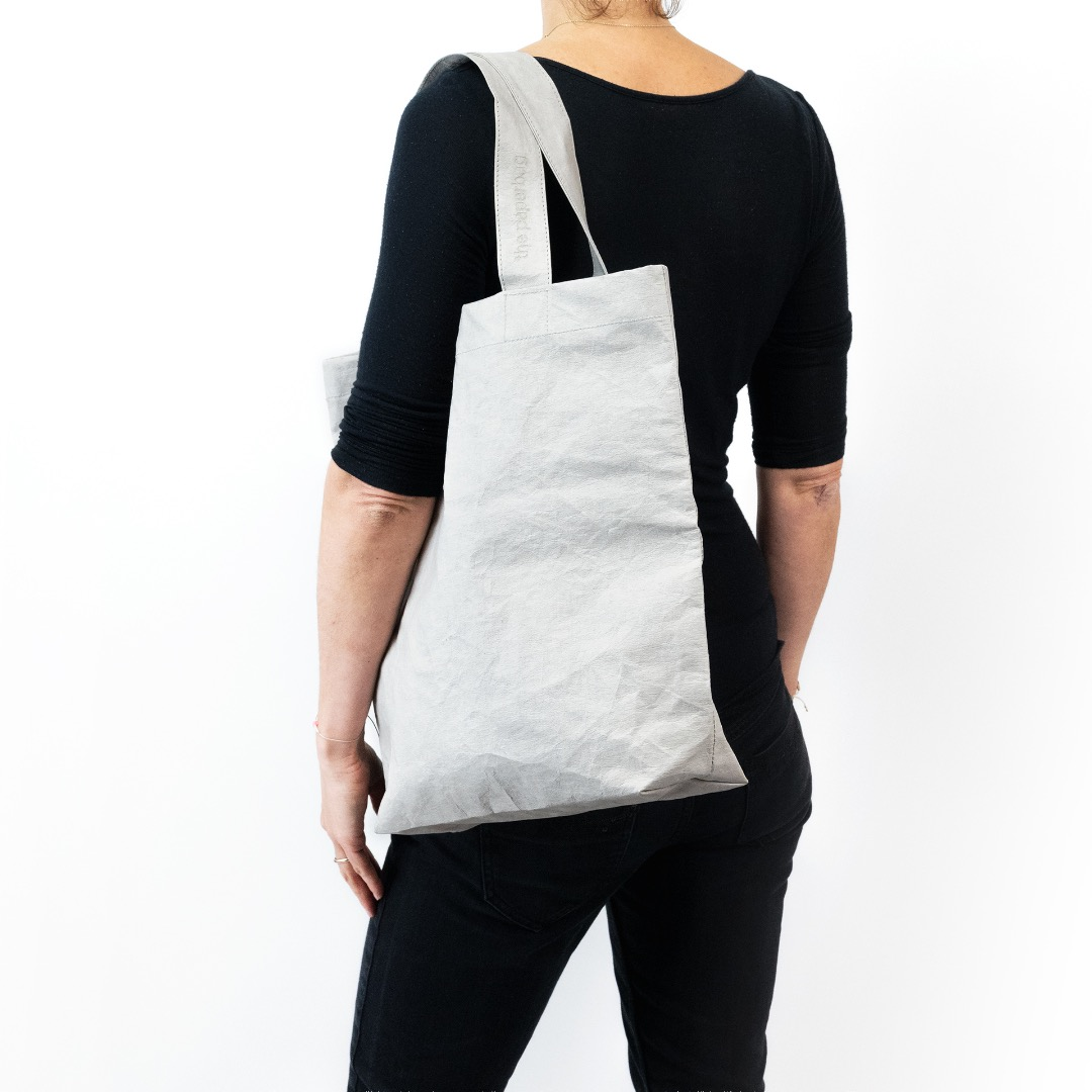 Paperbag NO 01 - Grey | - 3