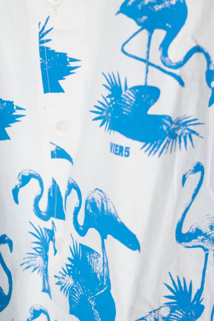 V5 Flamingo Shirt blue