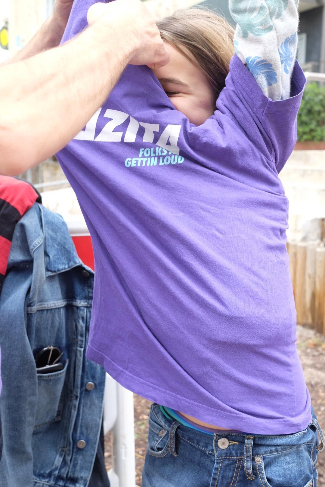 Folks All Gettin Loud Purple 4