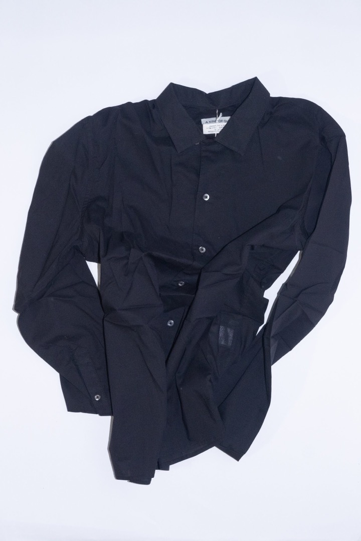 Excalibur Shirt - Sheer Black - 1
