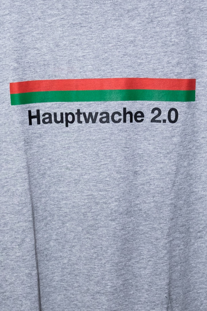 Hauptwache 2.0 T-Shirt heather grey - 2