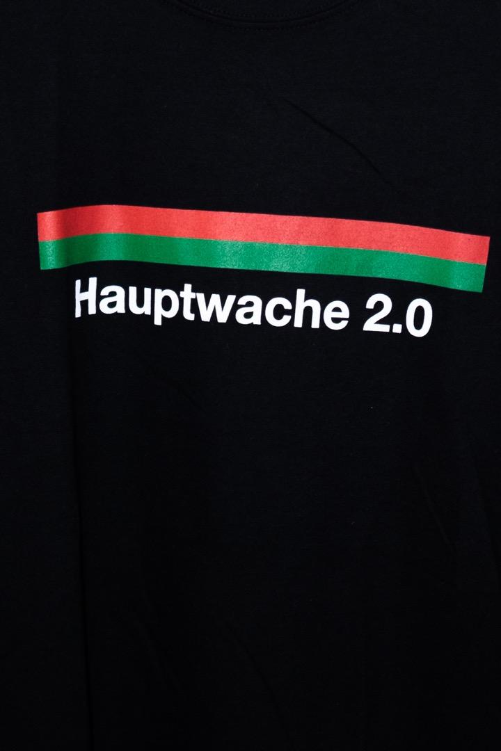 Hauptwache 20 Longsleeve-Shirt black - 2