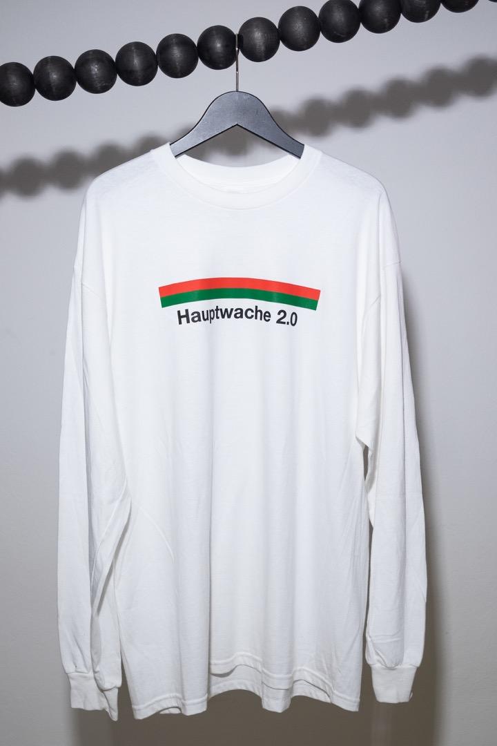 Hauptwache 20 Longsleeve-Shirt white - 1