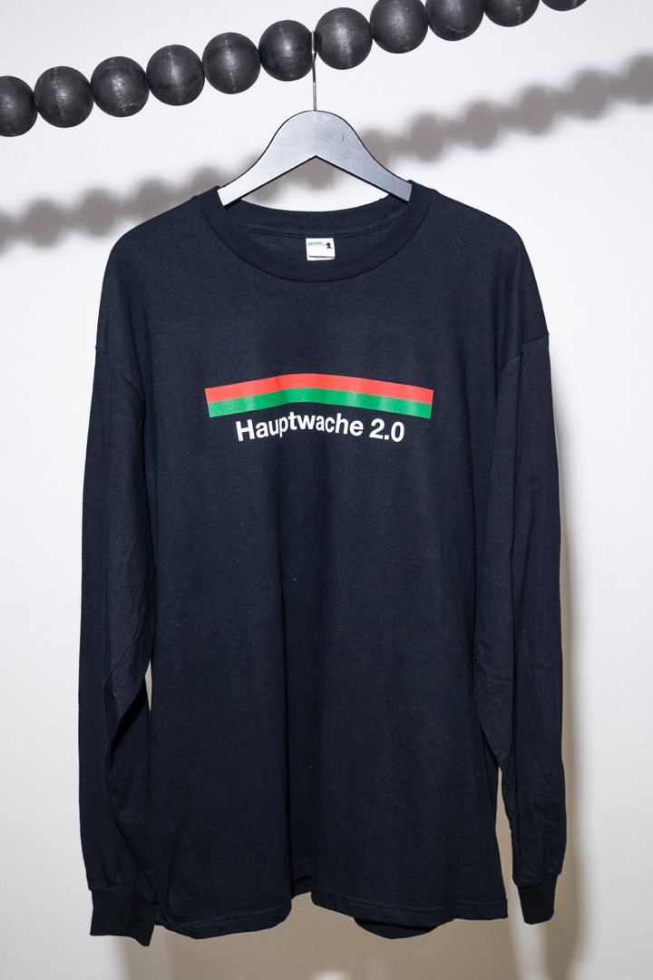 Hauptwache 2.0 Longsleeve-Shirt black - 1