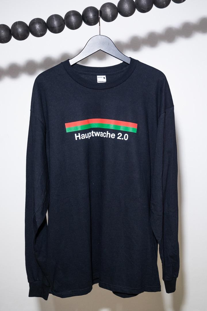 Hauptwache 20 Longsleeve-Shirt black - 1