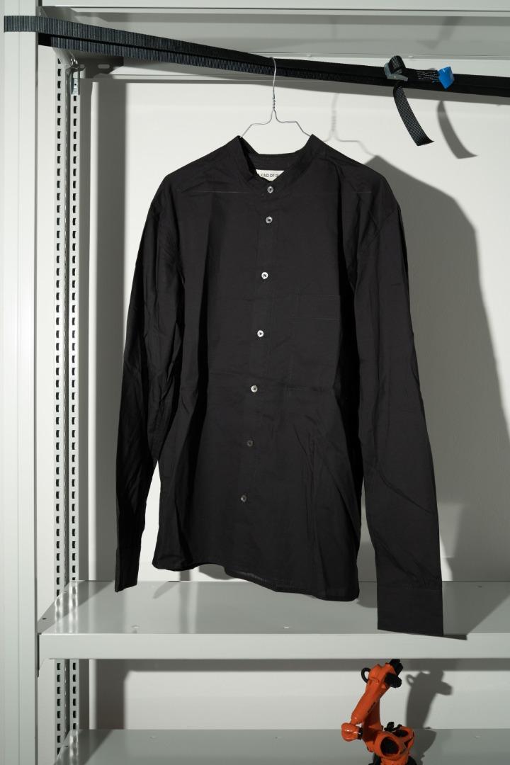 Luxor Shirt - Sheer Black