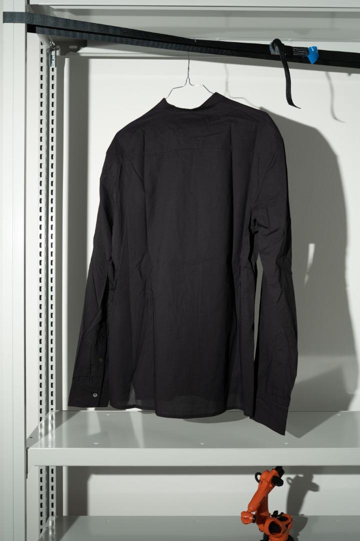 Luxor Shirt - Sheer Black 2